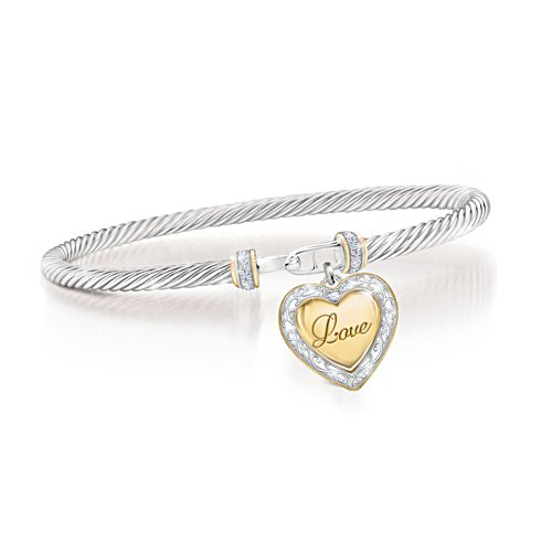 'Love For My Daughter' Diamond Bracelet