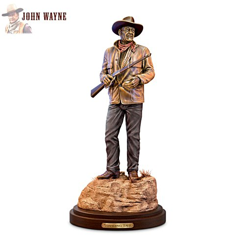 'Standing Tall: John Wayne' Cold-Cast Bronze Sculpture