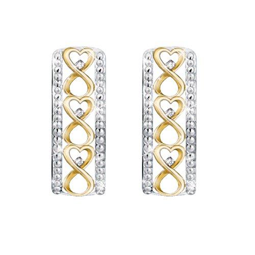 'Forever Loved' Daughter Diamond Earrings