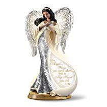 'On Angel's Wings' Mosaic Angel Sculpture