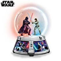 Star Wars™ 'Forces Of Light & Dark' Illuminated Musical Glitter Globe