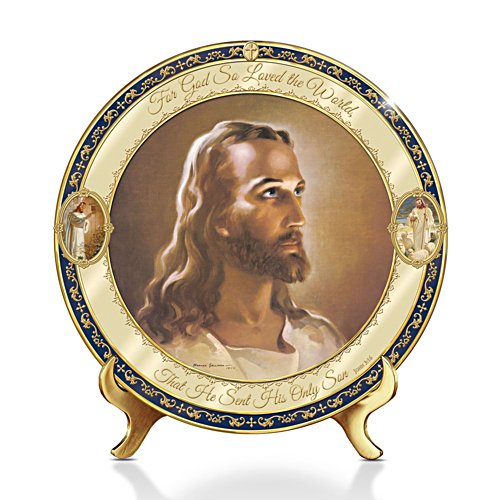 'For God So Loved The World' Heirloom Collector Plate