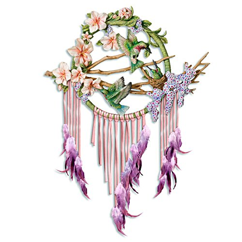 'Wings Of Wonder' Hummingbird Dreamcatcher Wall Décor