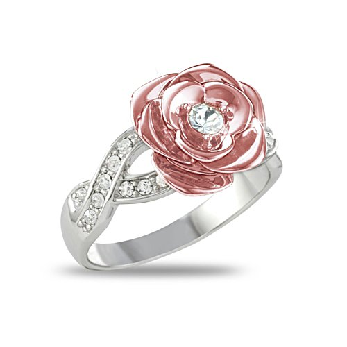 Englands Rose – Sterling-Silber- Ring
