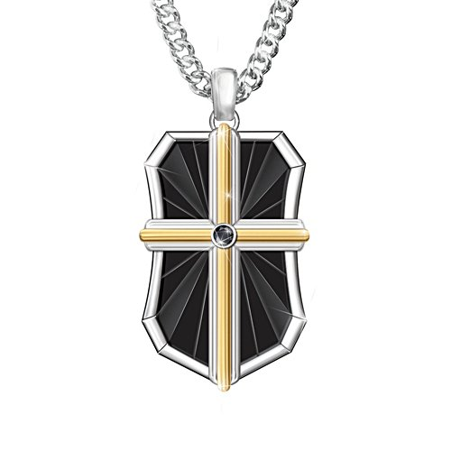 'Bless My Son' Faith Men's Pendant