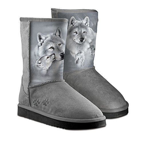 Eddie LePage 'Silver Sovereign' Wolves Ladies' Boots