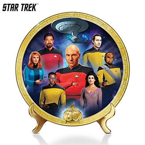 STAR TREK™: The Next Generation Commemorative Collector Plate