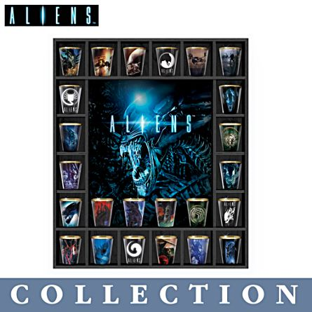Aliens™ Shot Glass Collection