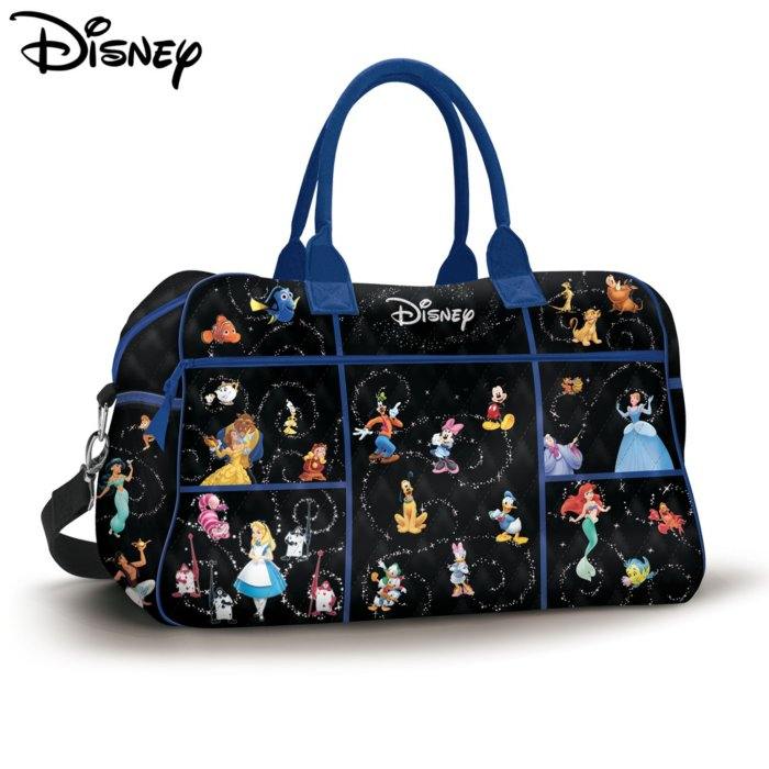 Disney Relive The Magic Quilted Weekender Tote Bag