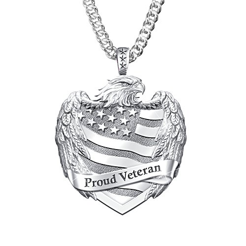 'Proud Veteran' Men's Pendant