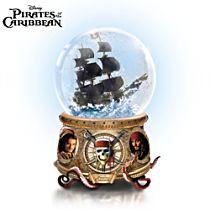Disney Pirates Of The Caribbean Glitter Globe