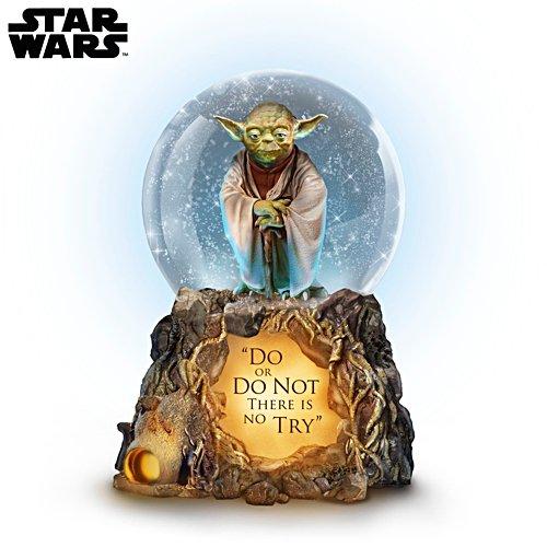 Star Wars™ Jedi Master Yoda™ Lit Musical Glitter Globe