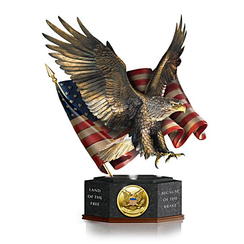 Pride Of America' Eagle Sculpture