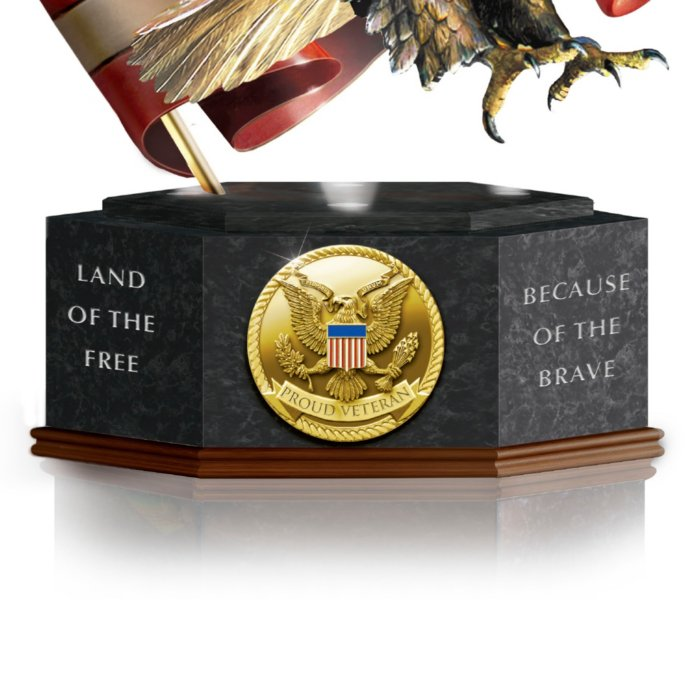 Pride Of America Eagle Sculpture