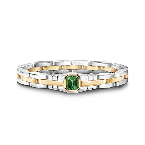 'Force Of Nature' Helenite Men's Bracelet