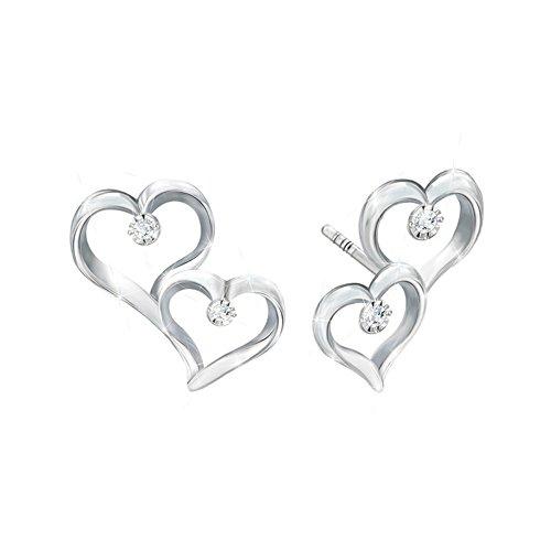 'Always My Daughter' Diamond Ladies' Earrings