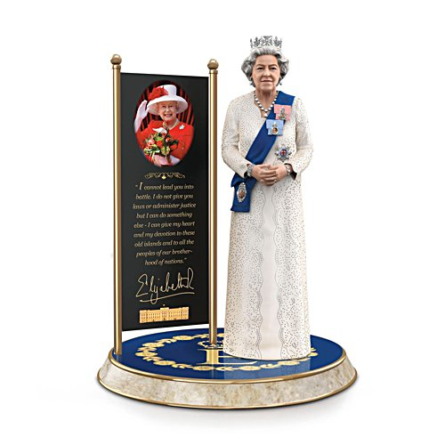Queen Elizabeth II: The Longest Reigning Monarch' Sculpture