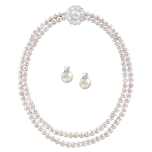 'Royal Treasure' Necklace And Earrings Set