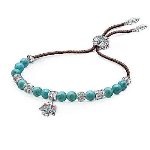 'Sacred Spirit' Turquoise Bolo Bracelet