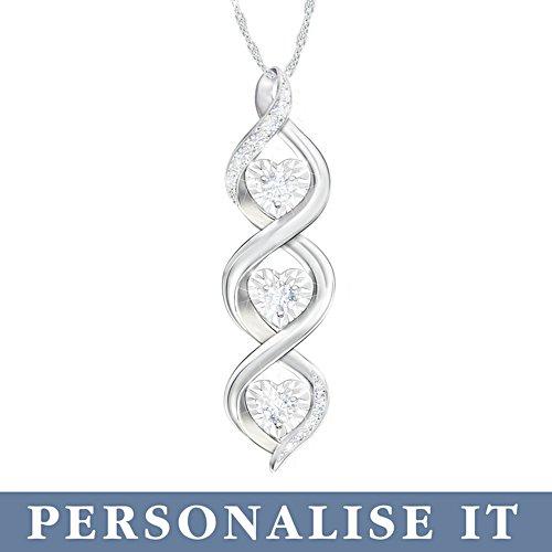 'Always My Daughter' Personalised Diamond Pendant