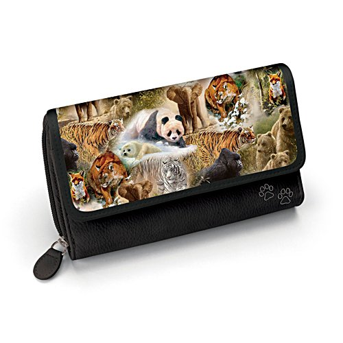 'Protect The Wild' Ladies' Wildlife Wallet