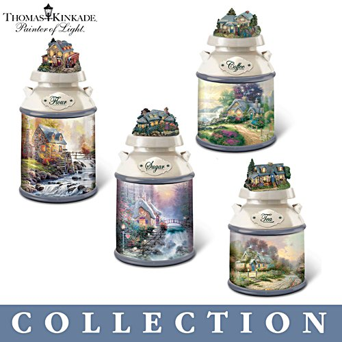 Thomas Kinkade 'Home Sweet Home' Canister Collection