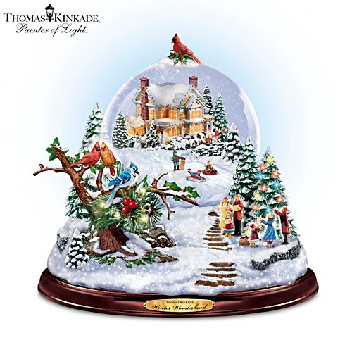 Thomas Kinkade 'Winter Wonderland' Snowglobe