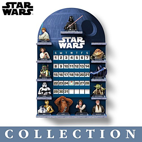 STAR WARS™ 'May The Force Be With You' Perpetual Calendar Collection
