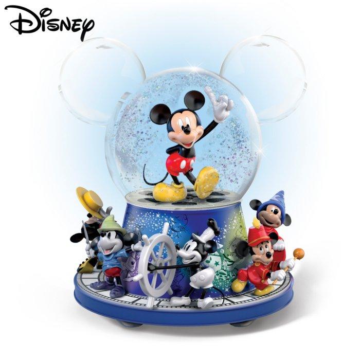 90 Jahre Micky Maus Disney Schneekugel