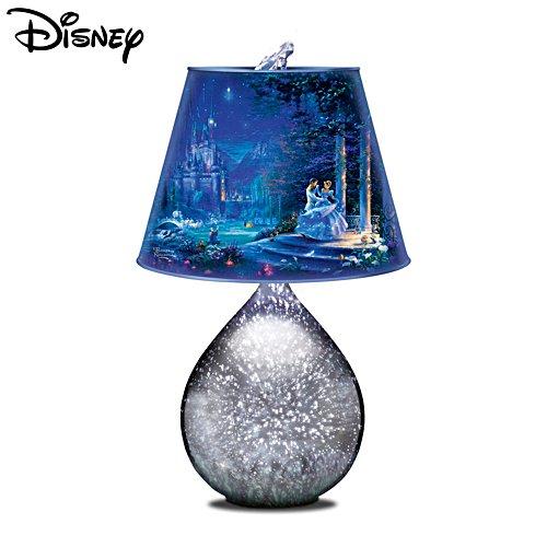 Disney Cinderella Thomas Kinkade 'Dancing In The Starlight' Lamp