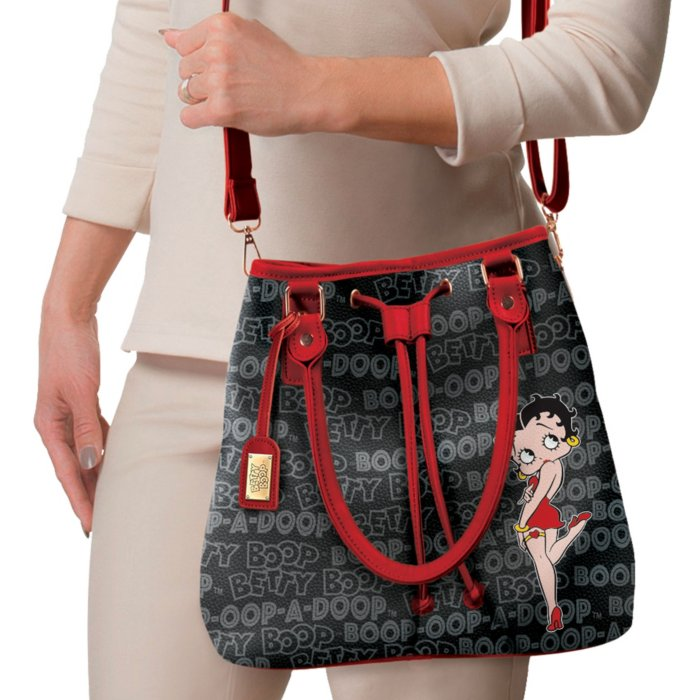 8dc23b80b79 Forever Betty Boop™  Ladies  Bucket Handbag