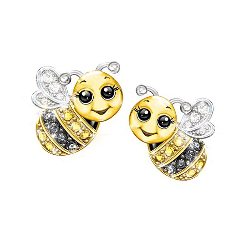 'Always Bee Yourself' Ladies' Earrings