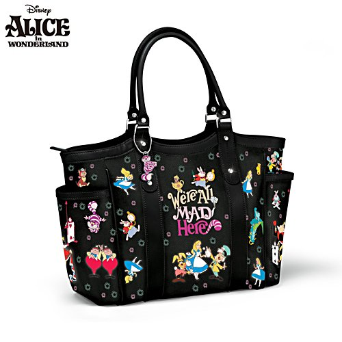 Disney Alice In Wonderland 'We're All Mad Here' Ladies' Handbag