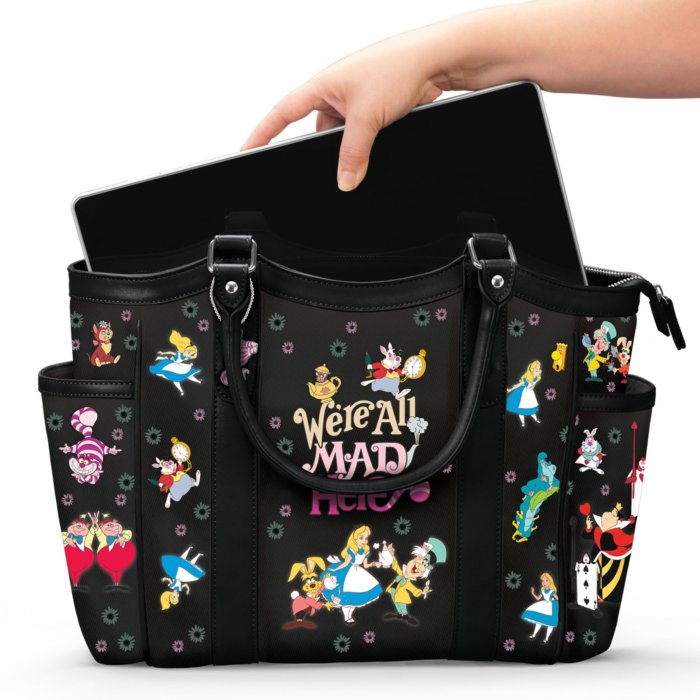 bc4c31b28d2 Disney Alice In Wonderland 'We're All Mad Here' Ladies' Handbag