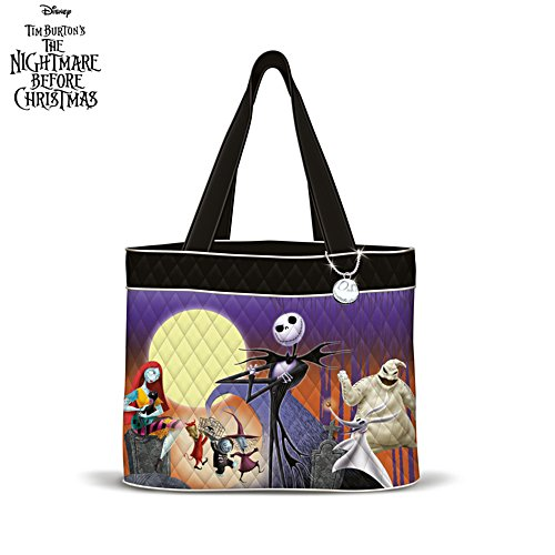 Disney Tim Burton 'The Nightmare Before Christmas' Tote Bag