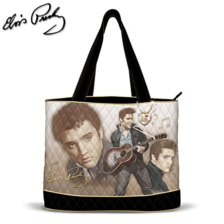 Elvis Presley™ 'Burning Love' Ladies' Tote Bag