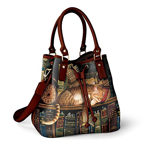Charles Wysocki 'Worth The Read' Handbag