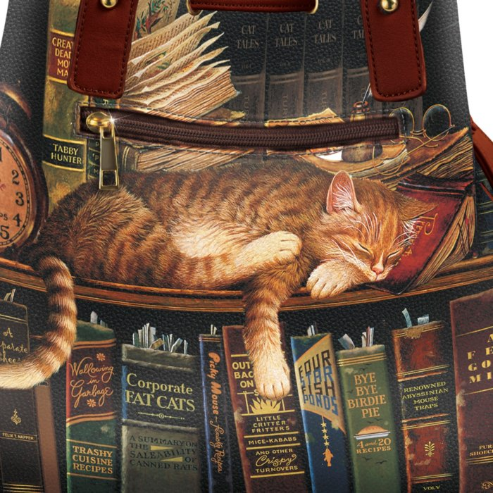 255e37acb3 Charles Wysocki 'Worth The Read' Handbag