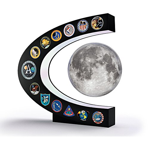 'NASA: Apollo Missions' Levitating Moon Sculpture
