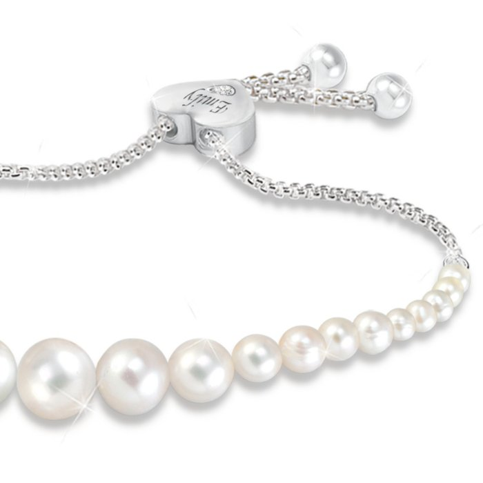ddefa0950815f 'Grandma's Pearls Of Wisdom' Ladies' Personalised Bracelet