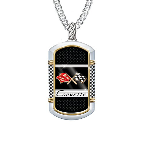 'Corvette®: The Legend' Men's Dog Tag