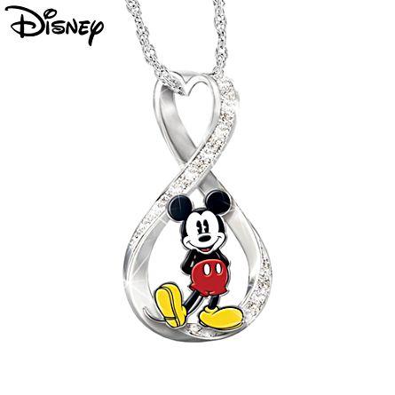 Disney 'Mickey Mouse Forever' Ladies' Pendant