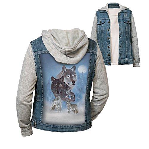 Eddie LePage 'Wild Spirit' Ladies' Wolf Hoodie