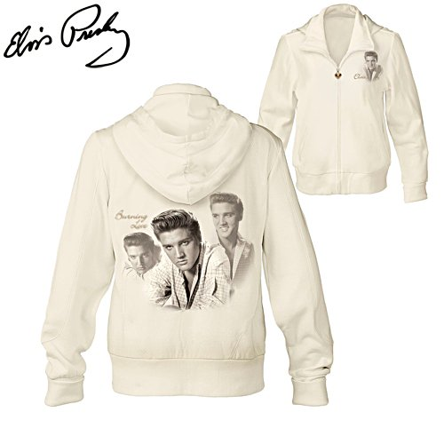 'Burning Love' Elvis Presley™ Ladies' Hoodie