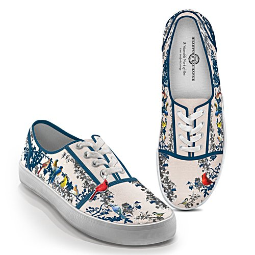 'Songs Of Spring' Ladies' Canvas Shoes