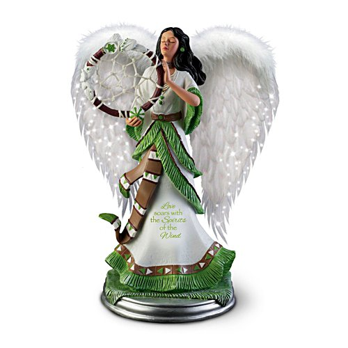 'Soaring Grace' Illuminated Spirit Sculpture