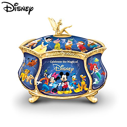 Ultimate Disney Heirloom Porcelain® Music Box