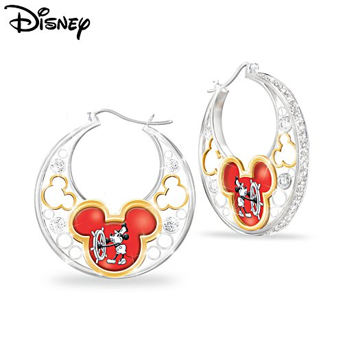 'Dazzling Disney' Mickey Mouse Ladies' Earrings