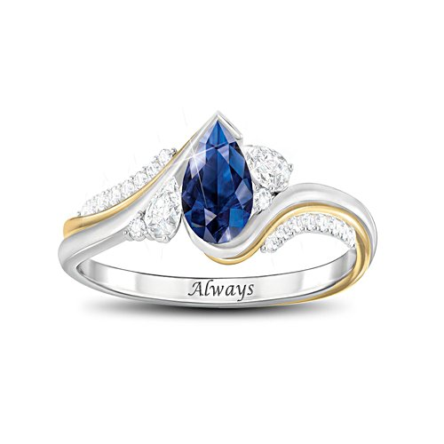 'With You Always' Diamonesk® Ladies' Ring