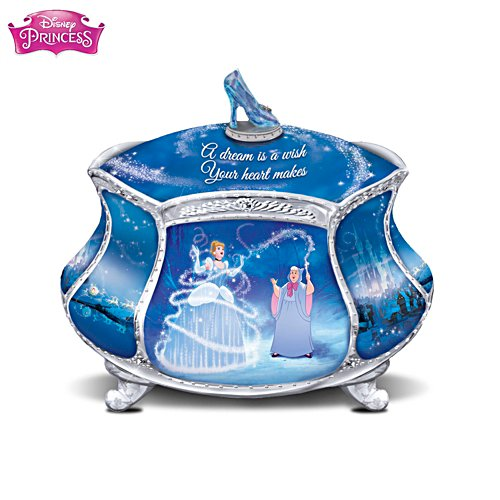 Disney 'Cinderella's Dream' Heirloom Porcelain® Music Box